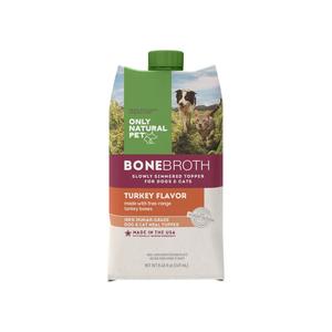 Only Natural Pet Bone Broth Free Range Turkey Bones