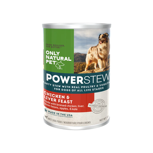 Only Natural Pet Canine PowerStew Chicken & Liver Feast