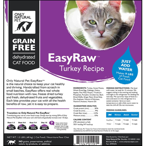 Only natural pet easyraw turkey recipe for cats review rating only natural pet easyraw turkey recipe for cats forumfinder Gallery