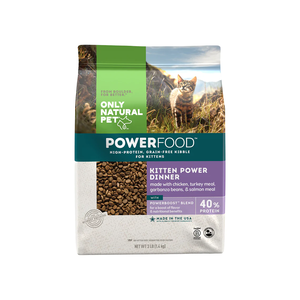Only Natural Pet Feline PowerFood Kitten Power Dinner