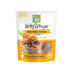 Only Natural Pet Jerky Wraps Cage Free Chicken Wrapped In Carrot