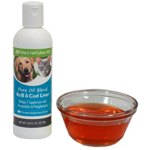 Only Natural Pet Supplements Pure Oil Blend Krill & Cod Liver