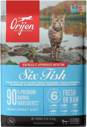 Orijen Dry Cat Food Six Fish Cat