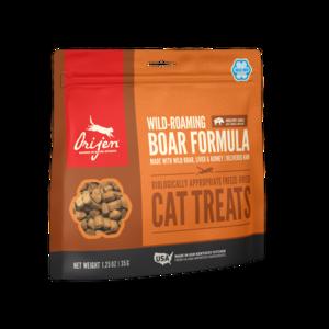 Orijen Freeze-Dried Cat Treats Wild Boar