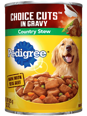 Pedigree Choice Cuts In Gravy Country Stew