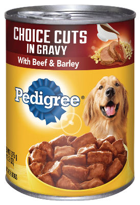 Pedigree Choice Cuts In Gravy With Beef & Barley