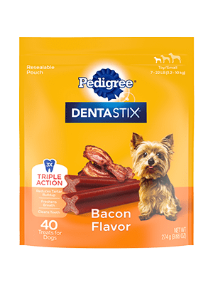 Pedigree Dentastix Bacon Flavor Toy/Small