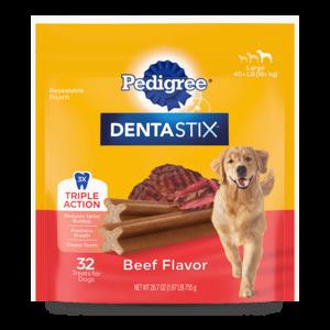 Pedigree Dentastix Beef Flavor Large