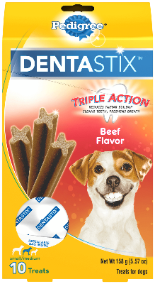 Pedigree Dentastix Beef Flavor Small/Medium