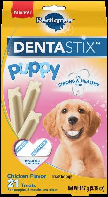 Pedigree Dentastix Puppy Chicken Flavor