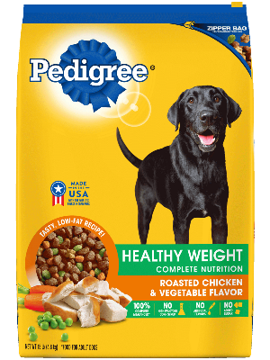 Pedigree Healthy Weight Complete Nutrition Roasted Chicken & Vegetable Flavor