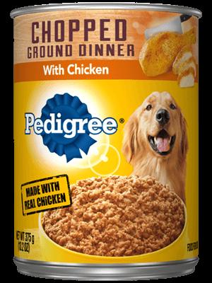 Pedigree Chopped Ground Dinner With Chicken