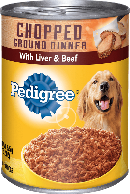 Pedigree Chopped Ground Dinner With Liver & Beef