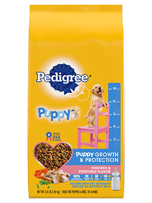 Pedigree Puppy Growth & Protection Chicken & Vegetable Flavor