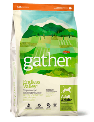 Petcurean Gather Endless Valley Vegan Recipe For Adult Dogs