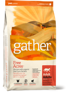 Petcurean Gather Free Acres Recipe For Adult Cats