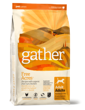 Petcurean Gather Free Acres Recipe For Adult Dogs