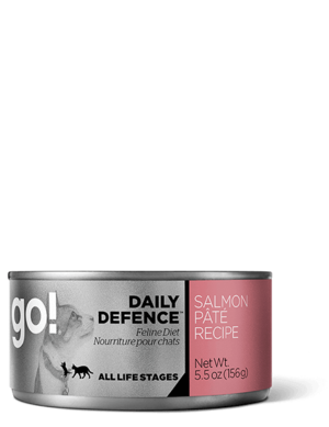 Petcurean Go! Daily Defence Salmon Pate Recipe For Cats