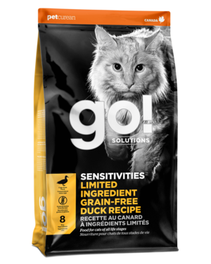 Petcurean Go! Sensitivity + Shine Limited Ingredient Duck Recipe For Cats