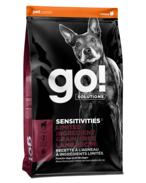 Petcurean Go! Sensitivity + Shine Limited Ingredient Lamb Recipe