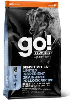 Petcurean Go! Sensitivity + Shine Limited Ingredient Pollock Recipe
