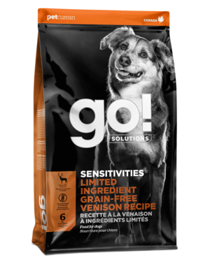 Petcurean Go! Sensitivity + Shine Limited Ingredient Venison Recipe
