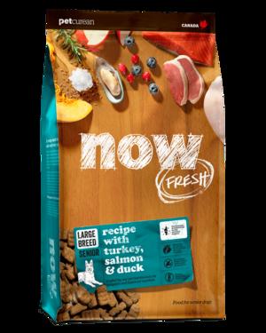 Petcurean Now Fresh Grain Free Large Breed Senior Recipe