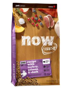 Petcurean Now Fresh Grain Free Senior Cat Recipe