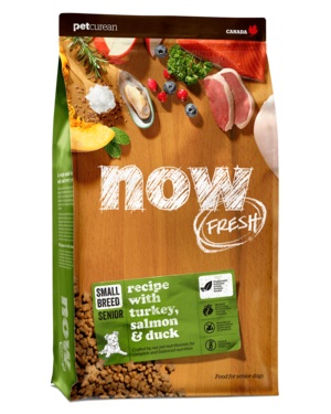 Petcurean Now Fresh Grain Free Small Breed Senior Recipe