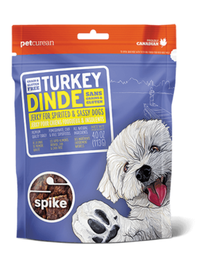Petcurean Spike Grain Free Turkey Jerky