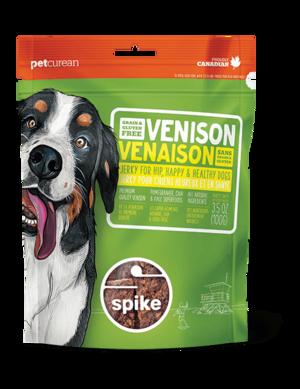 Petcurean Spike Grain Free Venison Jerky