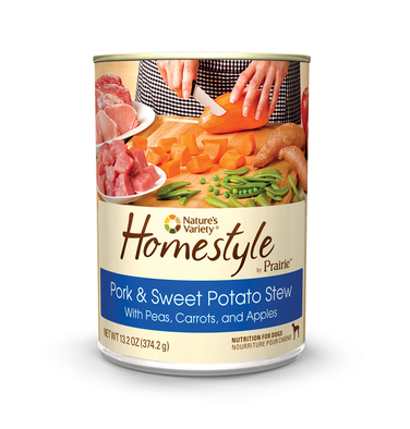 Prairie Homestyle Cans Pork and Sweet Potato Stew