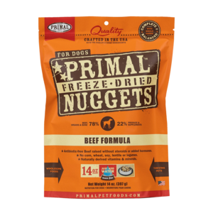 Primal Freeze-Dried Formulas Freeze-Dried Canine Beef Formula