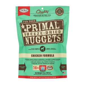 Primal Freeze-Dried Formulas Freeze-Dried Canine Chicken Formula