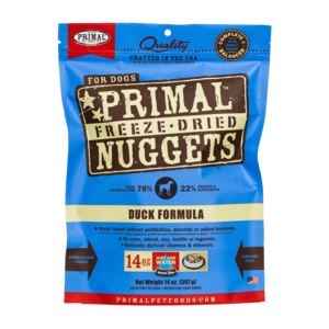 Primal Freeze-Dried Formulas Freeze-Dried Canine Duck Formula