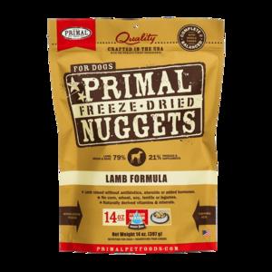 Primal Freeze-Dried Formulas Freeze-Dried Canine Lamb Formula