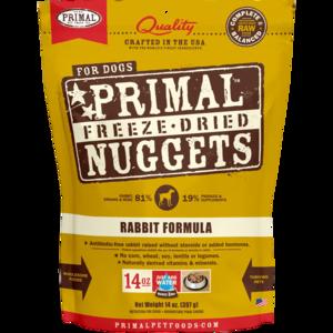 Primal Freeze-Dried Formulas Freeze-Dried Canine Rabbit Formula