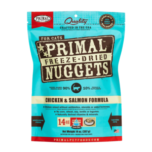 Primal Freeze-Dried Formulas Freeze-Dried Feline Chicken and Salmon Formula