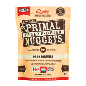 Primal Freeze-Dried Formulas Freeze-Dried Feline Pork Formula