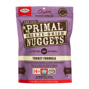 Primal Freeze-Dried Formulas Freeze-Dried Feline Turkey Formula