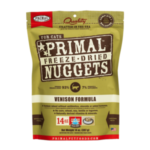 Primal Freeze-Dried Formulas Freeze-Dried Feline Venison Formula