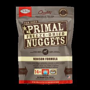 Primal Freeze-Dried Formulas Freeze-Dried Canine Venison Formula
