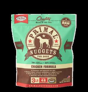 Primal Raw Frozen Formulas Canine Chicken Formula