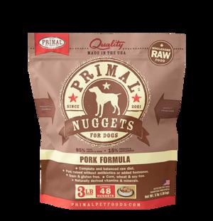 Primal Raw Frozen Formulas Canine Pork Formula