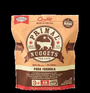 Primal Raw Frozen Formulas Feline Pork Formula