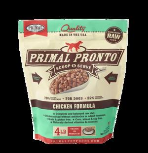 Primal Raw Pronto Formulas Canine Chicken Pronto Formula