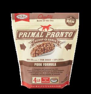 Primal Raw Pronto Formulas Canine Pork Pronto Formula