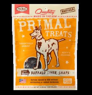 Primal Treats Buffalo Liver Snaps