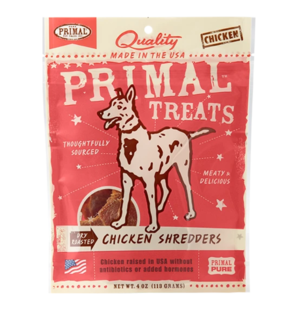 Primal Treats Chicken Shredders