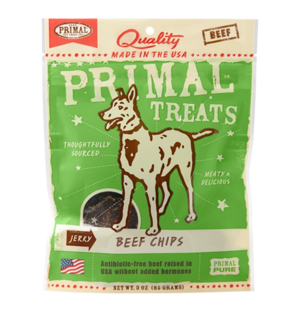 Primal Treats Beef Chips